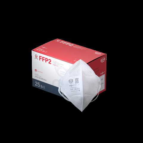 FFP2 Atemschutzmaske von MaXpert, 25 Stück, einzelverpackt