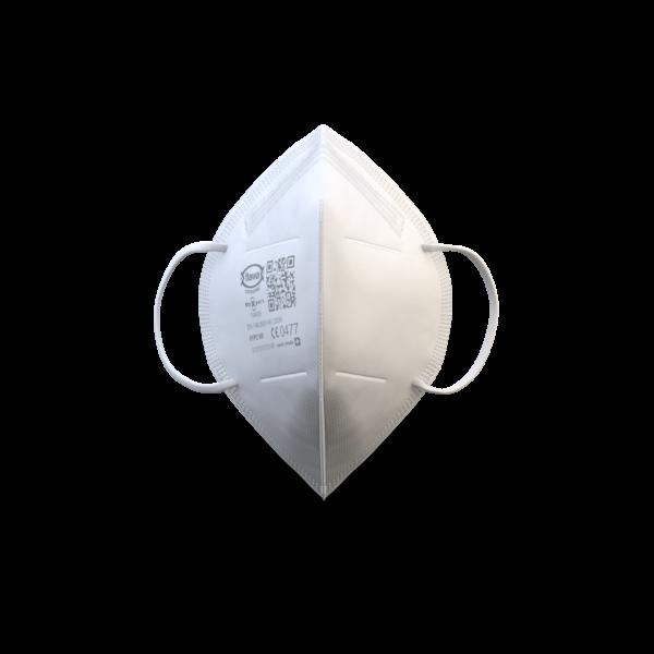 FFP2 Atemschutzmaske MaXpert 104939 mit elastischen Ohrenbändern. Verpackungseinheit: 1 Karton à 25 Stk., einzelverpackt