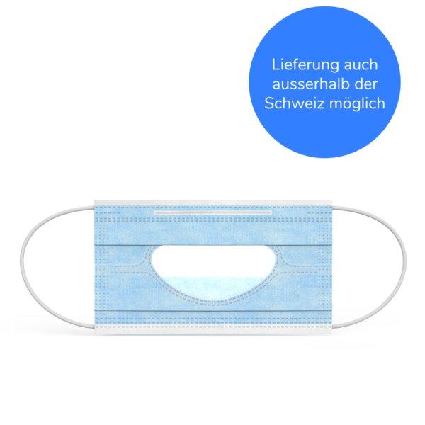 Gesichtsmaske Transparent Typ II MaXsmile